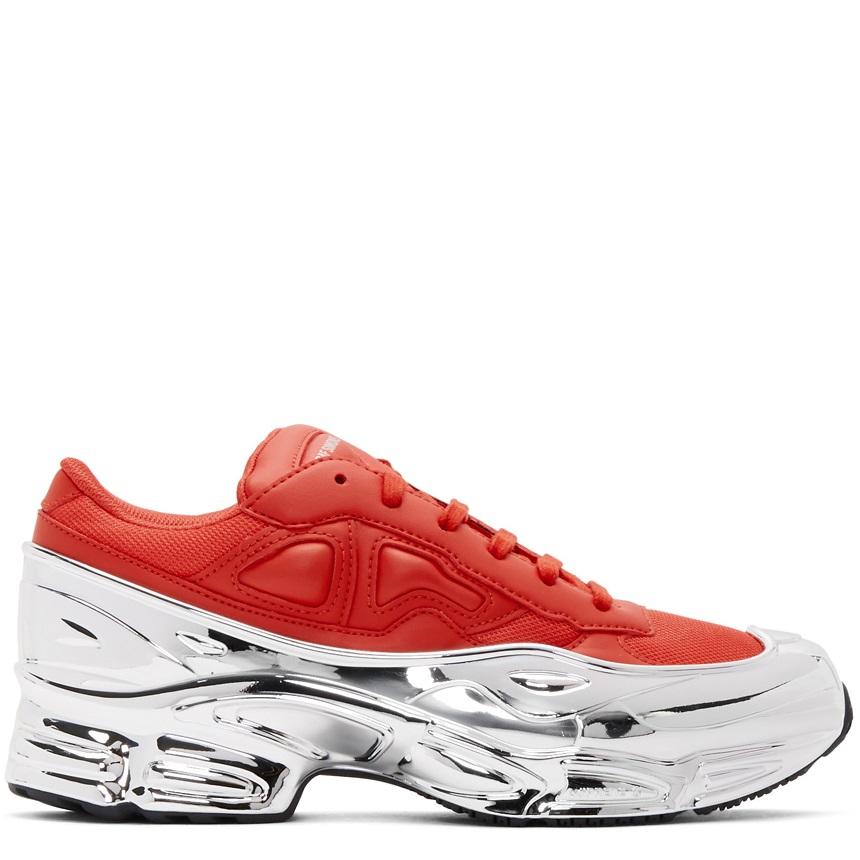 Raf Simons Adidas Red Ozweego Mirror